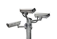 Surveillance d'appareils-photo Image libre de droits
