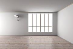 Surveillance dans la salle de séjour Photo libre de droits