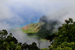 Surveillance de Kalalau Photographie stock