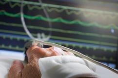 Surveillance de patient dans l'hôpital image stock