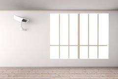 Surveillance in the Living room Royalty Free Stock Photo