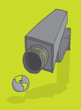 Surveillance on the planet Royalty Free Stock Photography