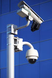 Surveillance of private property Stock Image