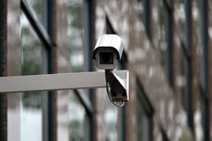 Surveillance, security camera, monitoring, CCTV Royalty Free Stock Photos