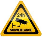 Surveillance visuelle illustration de vecteur