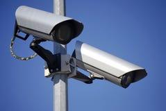 Surveillance visuelle photos libres de droits