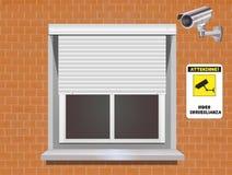 Surveillance visuelle Images stock