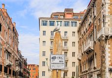 Surveillance Zone. Grand Canal. Venice Royalty Free Stock Photo
