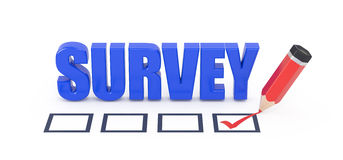 Survey. Royalty Free Stock Photos