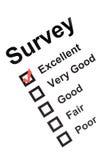 Survey Royalty Free Stock Photo