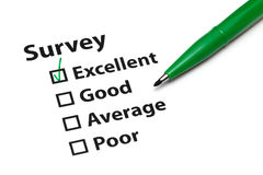Survey Royalty Free Stock Photo