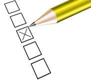Survey boxes Stock Photos
