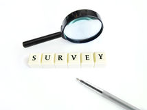 Survey concept Stock Photography