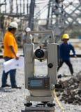 Survey equipment Stock Images