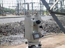 Survey equipment Stock Image