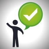 Survey icon design Stock Photo