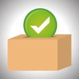 Survey icon design Stock Photography