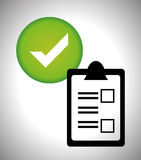 Survey icon design Stock Photo