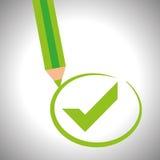 Survey icon design Stock Photos