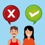 Survey icon design Royalty Free Stock Photography
