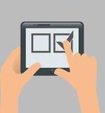 Survey icon design Royalty Free Stock Photo