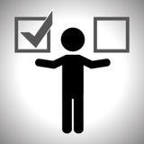 Survey icon design Royalty Free Stock Photos