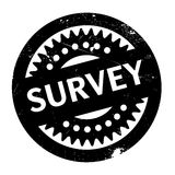 Survey rubber stamp Stock Images