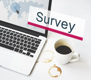 Survey Solutions Survey Information Feedback Concept Stock Images