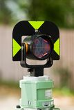 Surveying Circular Prism Royalty Free Stock Image