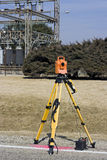 Surveying electric compound Stock Photography