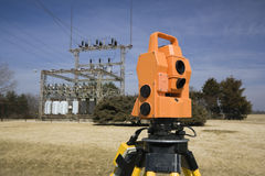 Surveying Electric Compound Royalty Free Stock Image