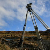 Surveying equipment Stock Images