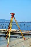 Surveying instrument royalty free stock photos