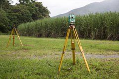 Surveying Instruments Royalty Free Stock Image