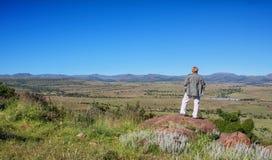 Surveying The Landscape stock photography