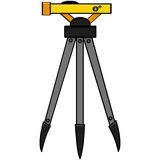 Surveying tool Stock Photo