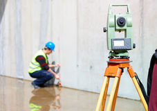 Surveying tools Royalty Free Stock Photo