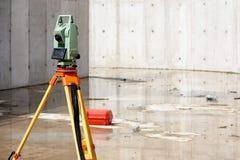 Surveying tools Royalty Free Stock Image