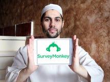 SurveyMonkey-Logo Lizenzfreies Stockbild