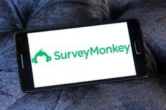 SurveyMonkey-Logo Stockfoto