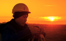 surveyor Imagens de Stock