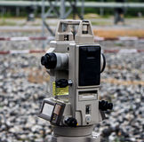 Surveyor engineer Royalty Free Stock Image