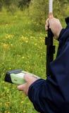 Surveyor equipment Royalty Free Stock Photo