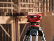 Surveyor equipment level theodolite Stock Photos