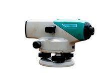 Surveyor equipment Royalty Free Stock Image