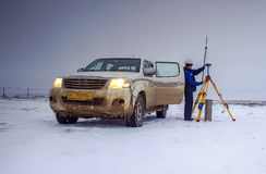Surveyor. Stock Photos