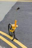 Surveyor`s Wheel Stock Photo