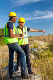 Surveyors at work Stock Photos