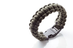 Survival bracelet Royalty Free Stock Image