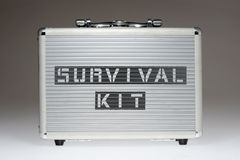 Survival kit BOX Royalty Free Stock Images